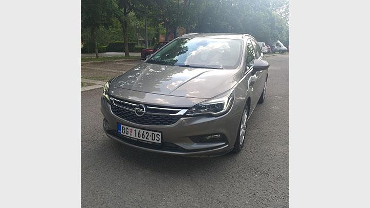 Opel Astra K 1.6 CDTI Sports Tourer automatic